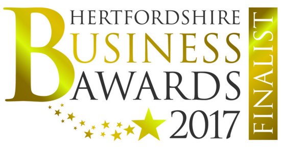 Hertfordshire Business Awards 2017 Finalist